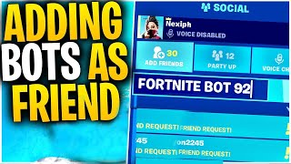 What Happens When You ADD A BOT To Your FRIENDS LIST? | Rocket Ride BANDAGE BAZKOOKA? | Mythbusters!