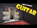 How to Make a GUITAR   Minecraft PE (Pocket Edition) MCPE