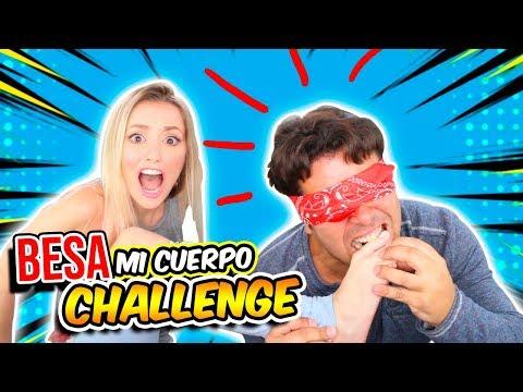 BESA MI CUERPO CHALLENGE CON MI NOVIA ft Katie Angel   KISS MY BODY!!   ItsOsoTV
