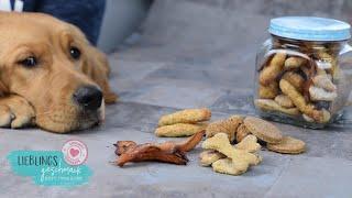 Hunde Leckerlis 5 verschiede Sorten🦴/von Lieblingsgeschmack