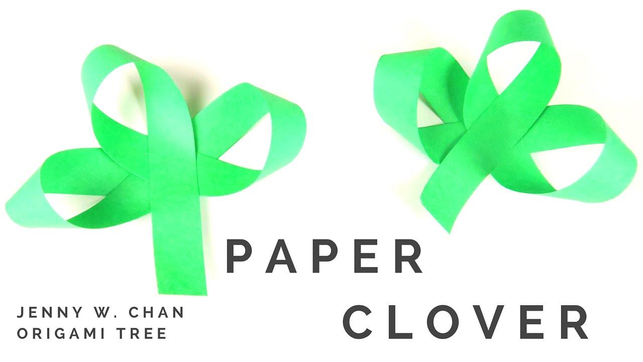 saint patrick u0027s day crafts st patrick u0027s diy paper clover