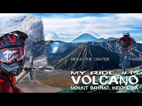 Downhill at Volcano - Mount BROMO   Matej Charvat - MY RIDE #15