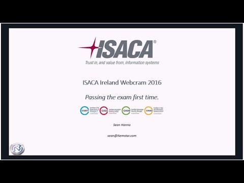 ISACA Exam Webcram by Sean Hanna