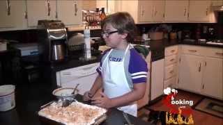 Cooking With Kade | Pina Colada Cake Dessert Recipe On The Cajun Tv Network