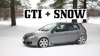 Is my GTI Good in Snow?!