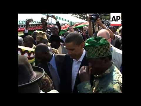 Senator Obama Visit To Kenya