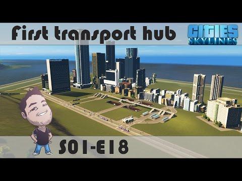 E18 - First transport hub
