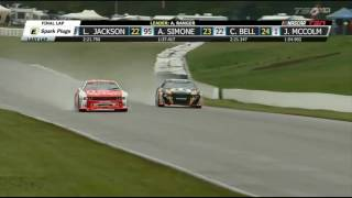 NASCAR Pinty's Series 2017. Canadian Tire Motorsport Park. Battle for Win