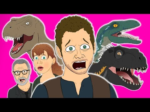 JURASSIC WORLD FALLEN KINGDOM THE MUSICAL - Animated Parody Song