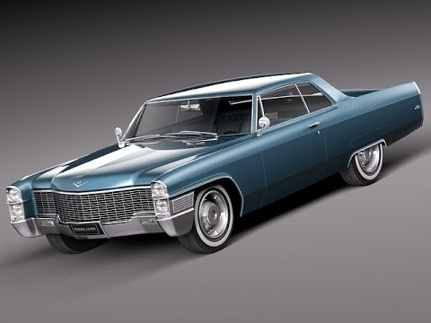 3d model cadillac deville 1965 coupe 3d model at 3dexport. Black Bedroom Furniture Sets. Home Design Ideas