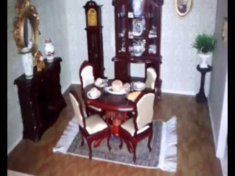 Dollhouse tour la mia casa delle bambole tour youtube for Arredamento della casa con la a