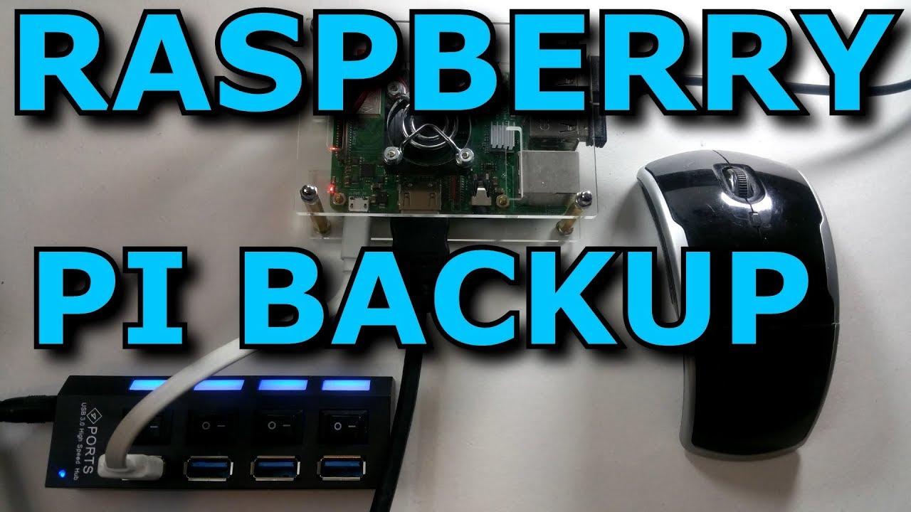 Raspberry PI 3 B+ Backup Using MicroSD Card and Card Reader (Raspian Linux)