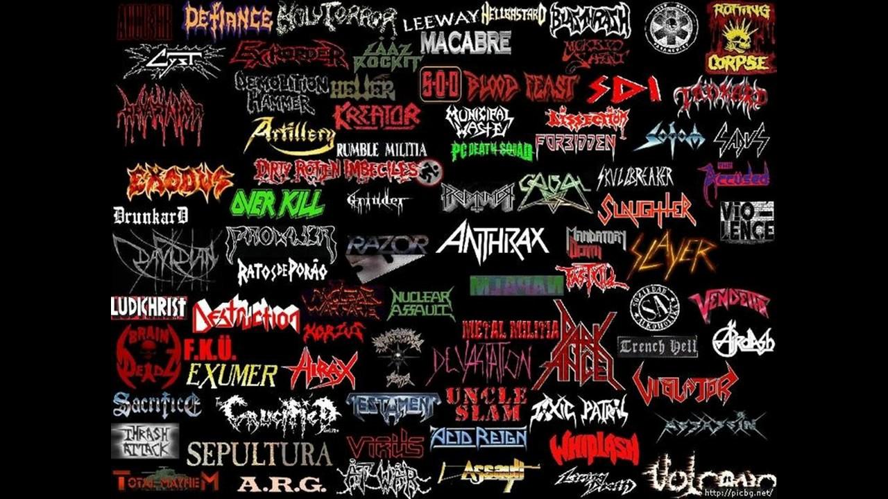 THRASH METAL MIX   Best of Thrash Metal Vol. 1 - YouTube