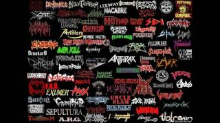 Скачать Old School Thrash Metal Mix