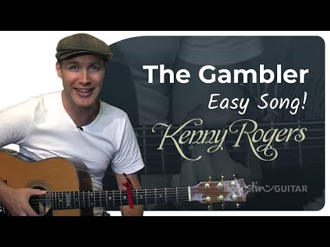 The Gambler - Kenny Rogers (Easy Songs Beginner Guitar Lesson BS-106) How to play