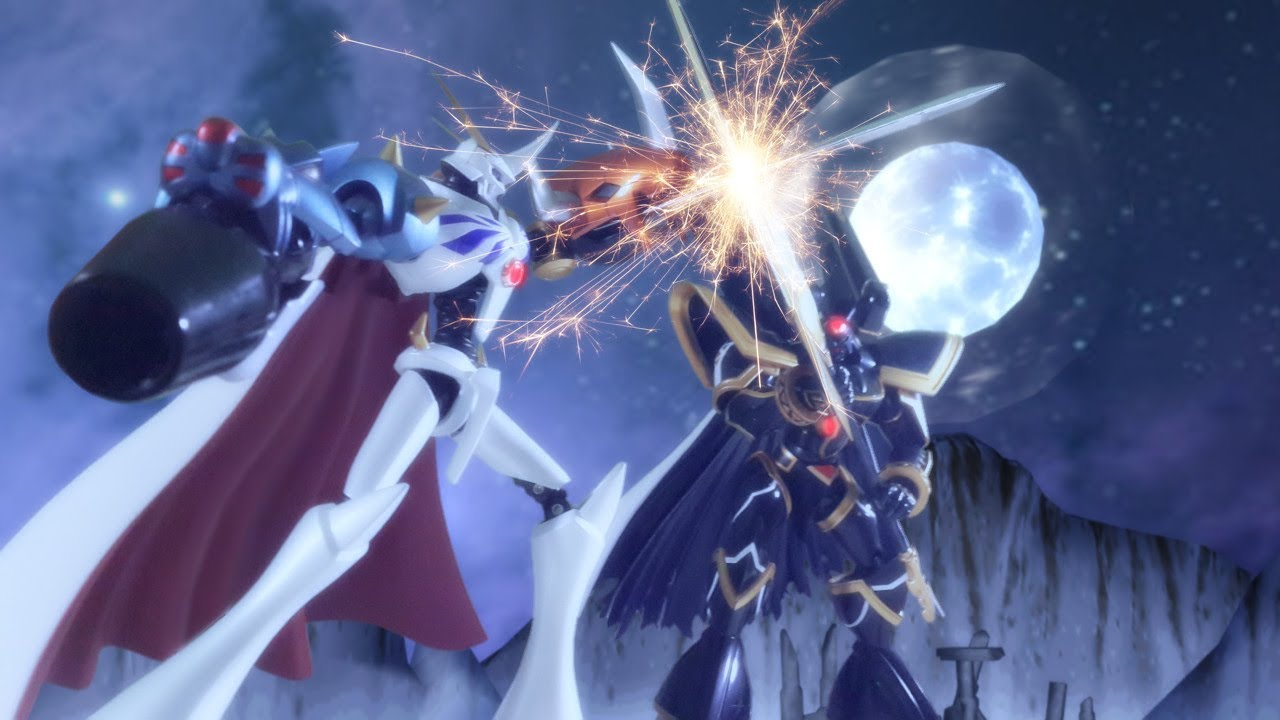 Digimon Full Moviee Omegamon Vs Alphamon , Sub Indonesia