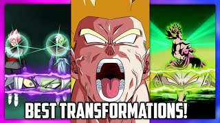 BEST TRANSFORMATIONS IN DOKKAN BATTLE! (Updated) | Dokkan Battle List