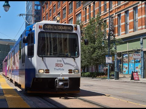 Denver RTD - Light Rail Observations October 2018 - YouTube