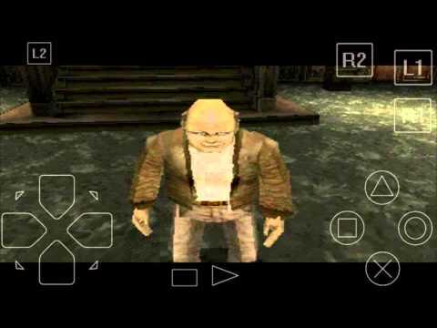 Jugando Resident Evil Survivor psx parte 1