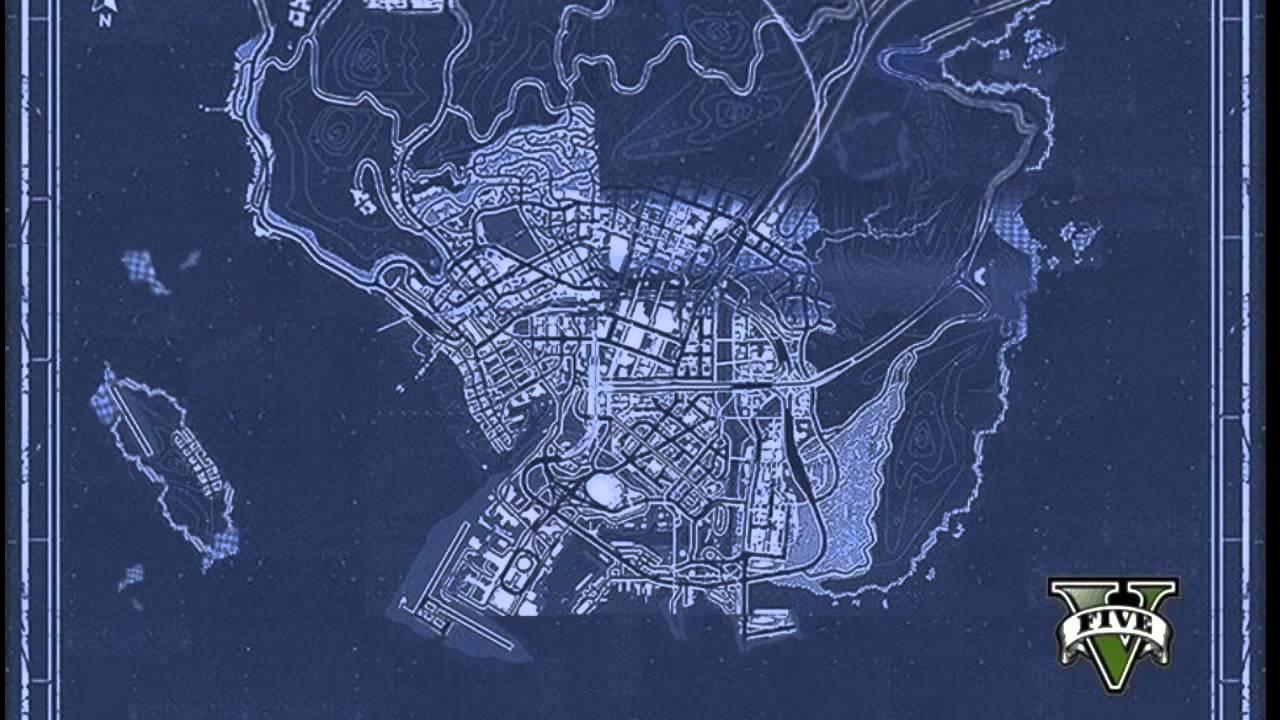 Gta 5 Map Blueprint The Image Kid Has It