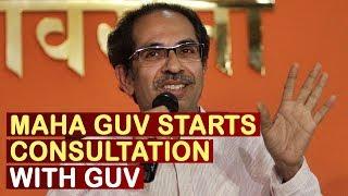 Maha Governor Starts Consultation With Centre On Maharashtra Govt Formation