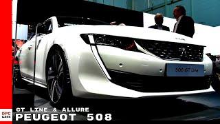 2019 Peugeot 508 GT Line & 508 Allure