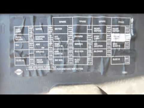 Nissan Elgrand Fuse Box | Wiring Diagram on