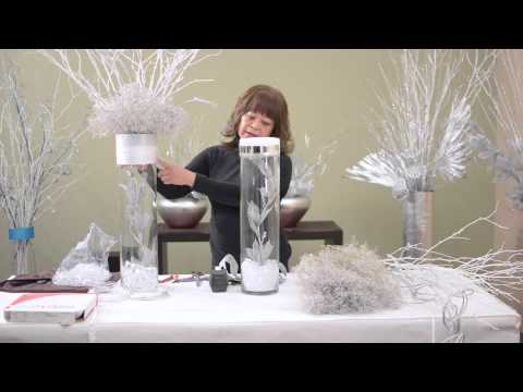 DIY: Elegant Wedding Centerpiece - Part 2