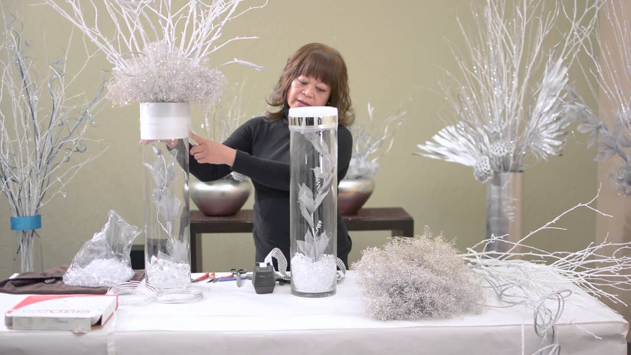 Diy Elegant Wedding Centerpiece Part 2 Youtube
