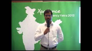Sachin Tilak from Indore shares his experience