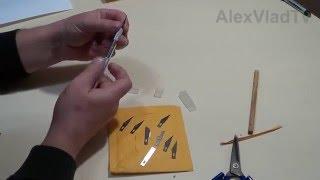 Нож скальпель для поделок. Посылки из Китая(Алиэкспресс).