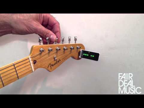 TC Electronic Polytune clip on Tuner Demo from FairDeal Music Birmingham