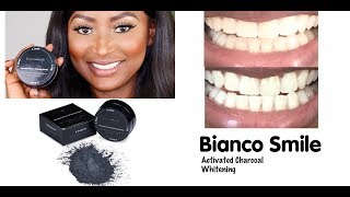 Gambar cover BIANCO SMILE | ACTIVATED CHARCOAL WHITENING POWDER | REVIEW | DOES IT WORK?