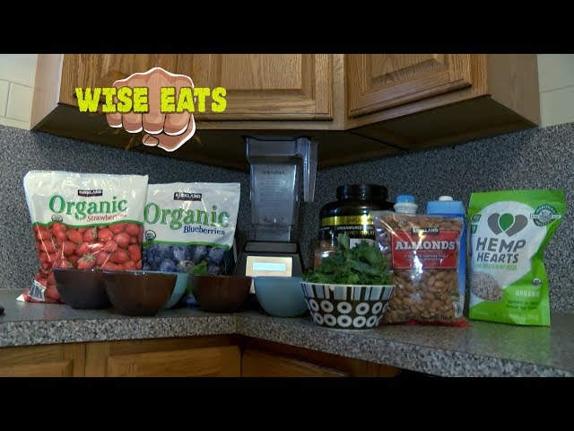 Wise Eats - Sidewalk Slam Smoothie – Superfood Protein Shake for Detox, Energy, and Immune System