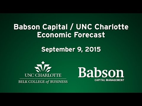 Babson Capital/UNC Charlotte Economic Forecast – September 2015