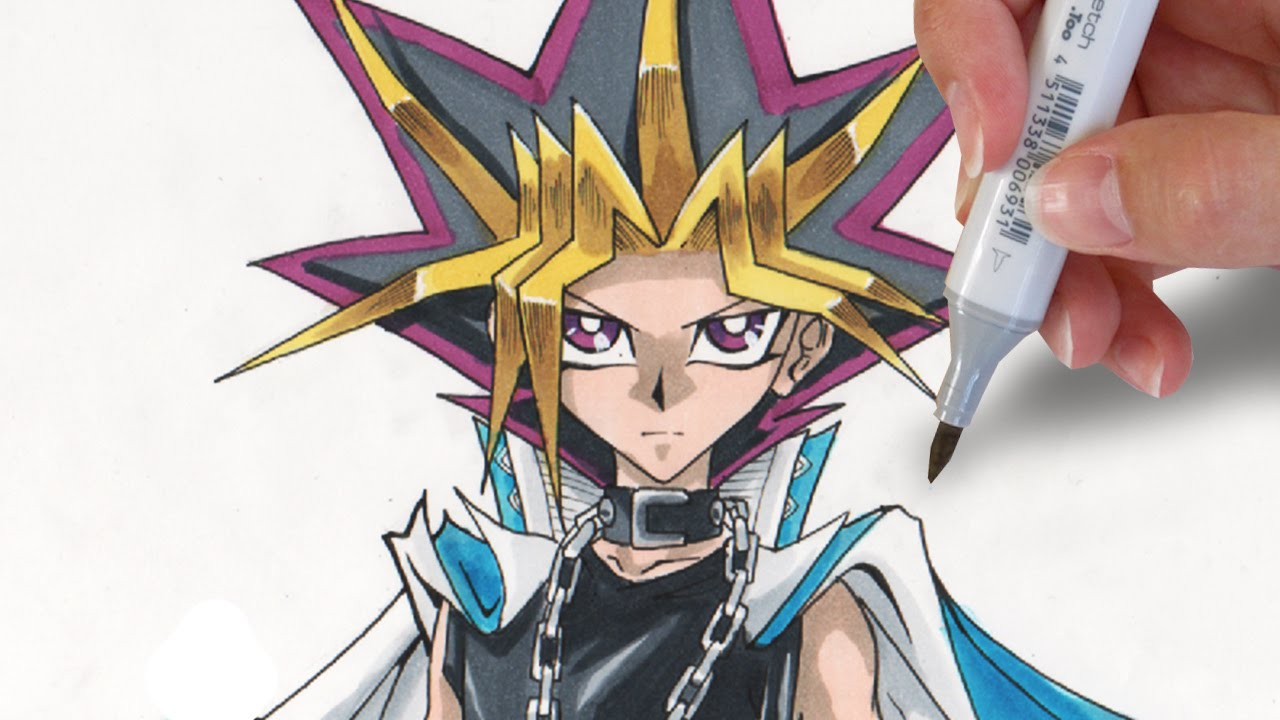 how to draw yami yugi youtube ccuart Gallery