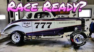 Preparing the Vintage Modified Race Car for my FIRST RACE! - Vice Grip Garage EP90