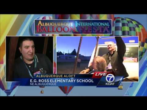 Albuquerque Aloft This Morning