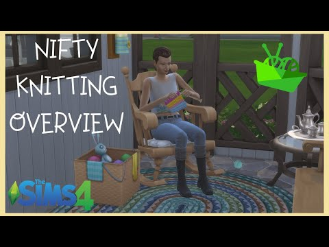 My First Reaction | The Sims 4 Nifty Knitting | CAS and Build/Buy Overview |