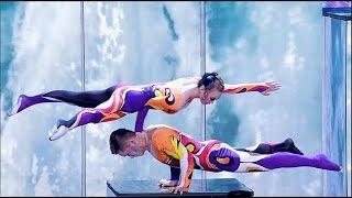 Amazing acrobatic performance