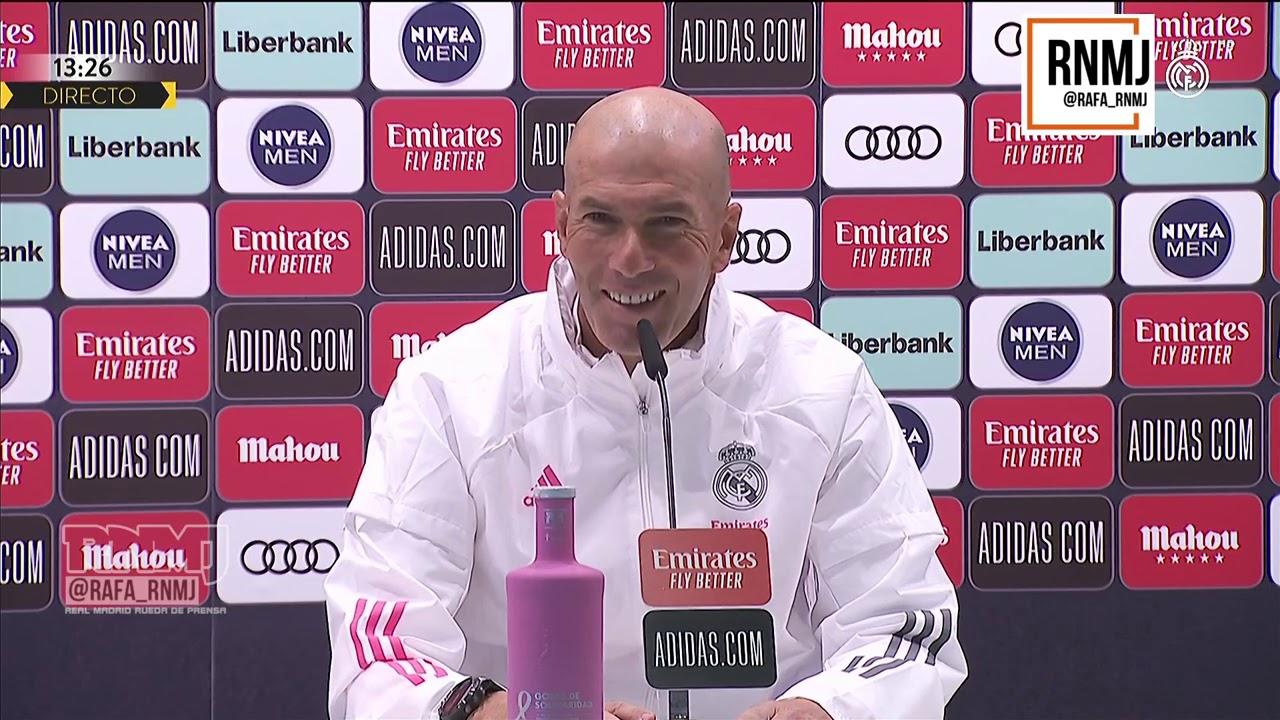 Rueda de prensa de ZIDANE previa Real Madrid - Cádiz (16/10/2020)