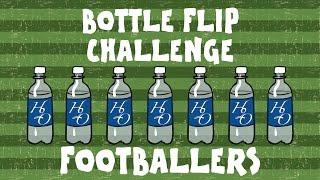 ⚽BOTTLE FLIP CHALLENGE: FOOTBALLERS! (MSN, Ronaldo, Zlatan, Aubameyang, Rooney and more! PARODY)⚽!