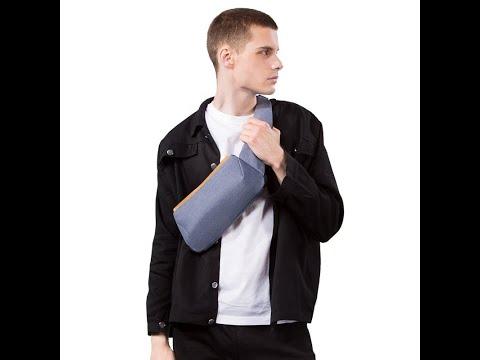 2020 Fashion Trending Anti Theft Shoulder Unisex Designer Sling Bags Waterproof