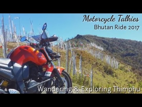 Bhutan Ride 2017 - Thimphu city Ride