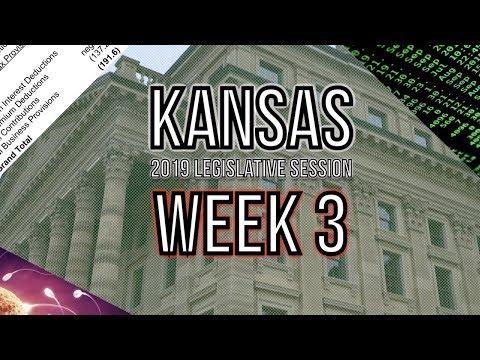 Weeks 3 Recap - 2019 Kansas Legislative Session