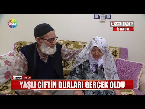 Yaşlı çiftin Duaları Gerçek Oldu