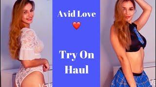 Babydolls and Bodysiuts Try On--Avid Love