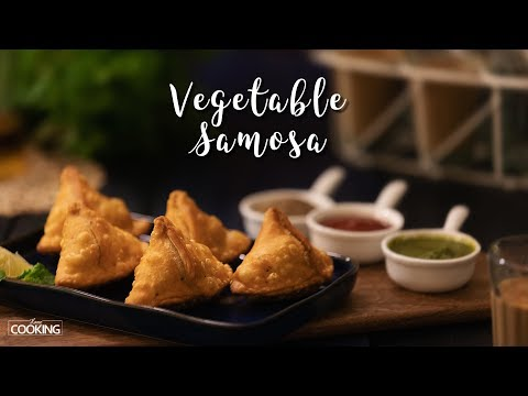 Vegetable Samosa | Evening Snack Recipe