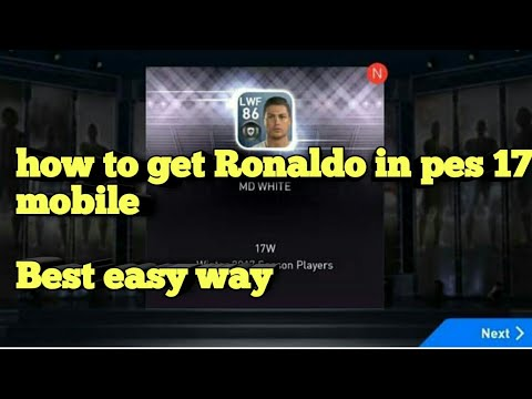 Cheap Way to get Ronaldo in PES 2018 MOBILE