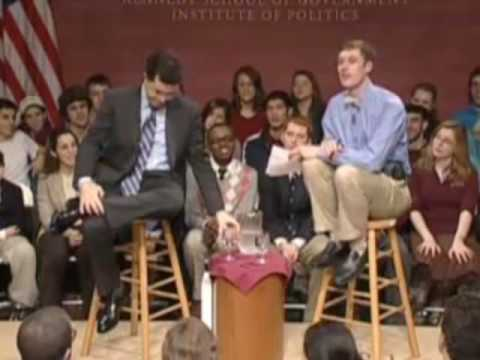 Stephen Colbert Interview at Harvard: 3 of 7